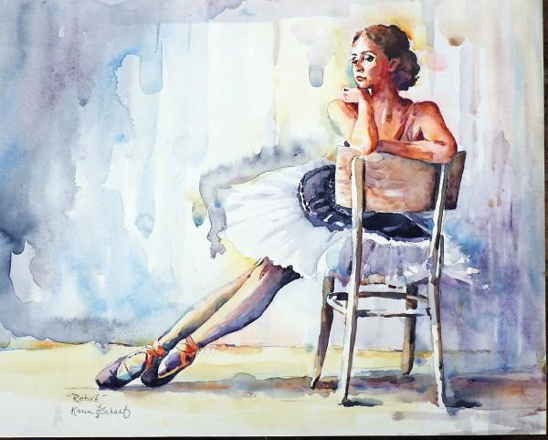 Retiré by Karen Schaaf