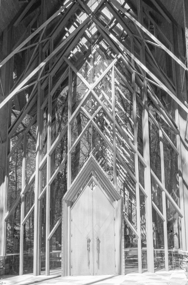 Glass Chapel: Lace and Light—Anthony Chapel 1 by Y. Hope Osborn