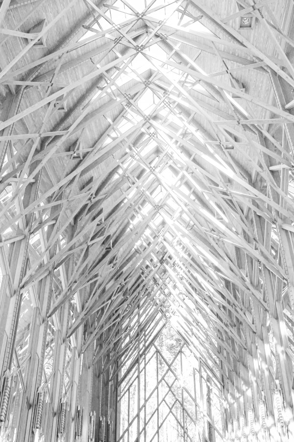 Glass Chapel: Lace and Light—Anthony Chapel 4 by Y. Hope Osborn