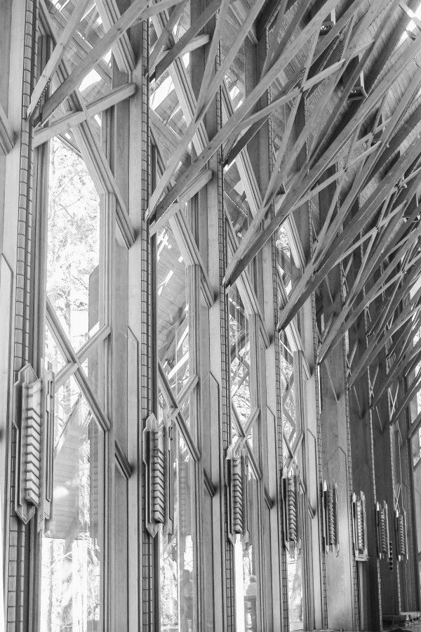 Glass Chapel: Lace and Light—Anthony Chapel 2 by Y. Hope Osborn
