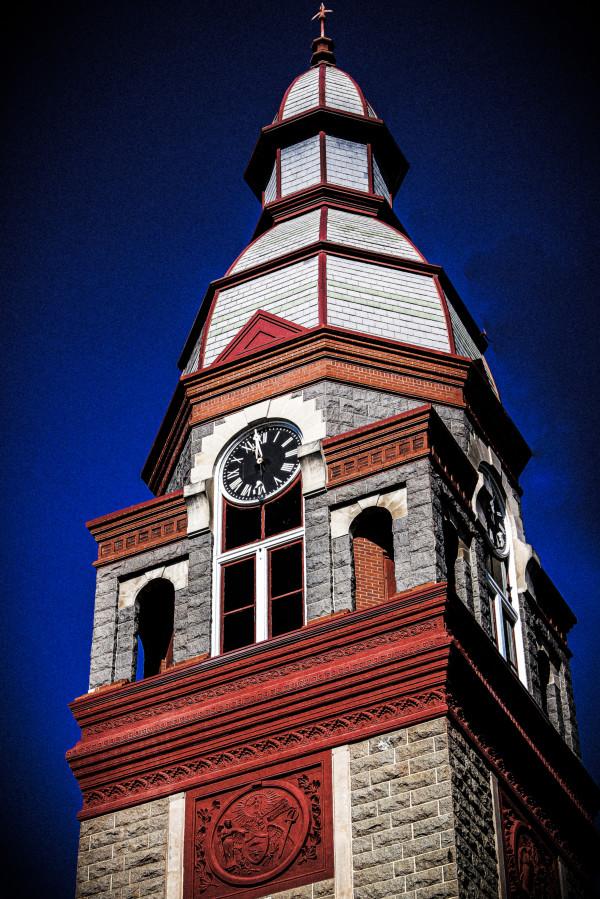 Courthouse Clocktower 2 by Y. Hope Osborn