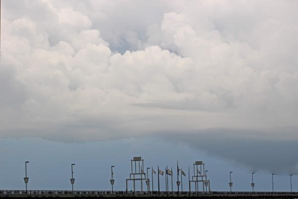 Dam Storm Clouds by Y. Hope Osborn