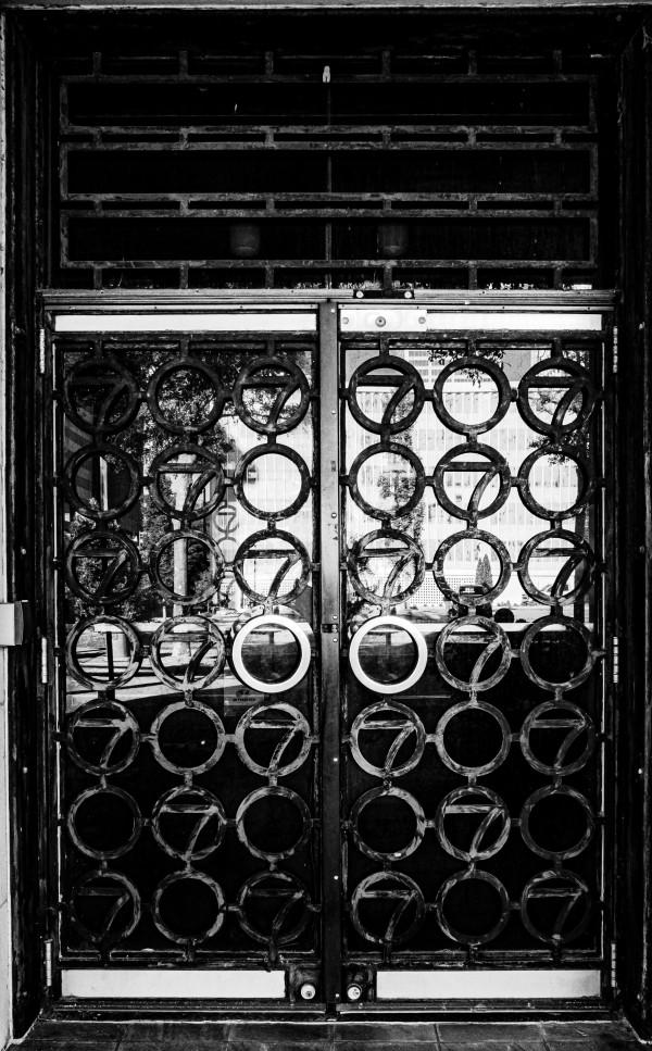 Portals Worthern Building-Early 20th by Y. Hope Osborn