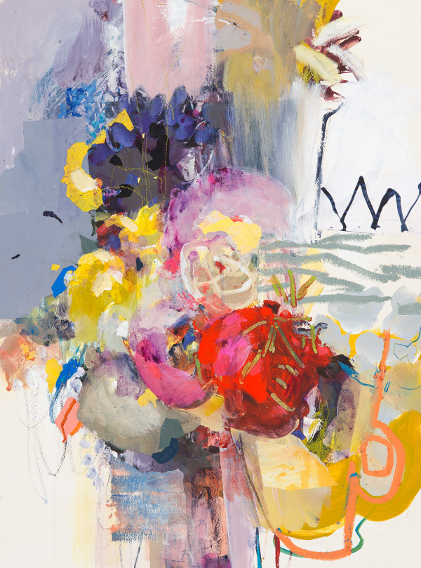 Big Bouquet - Unframed by Karen Stamper
