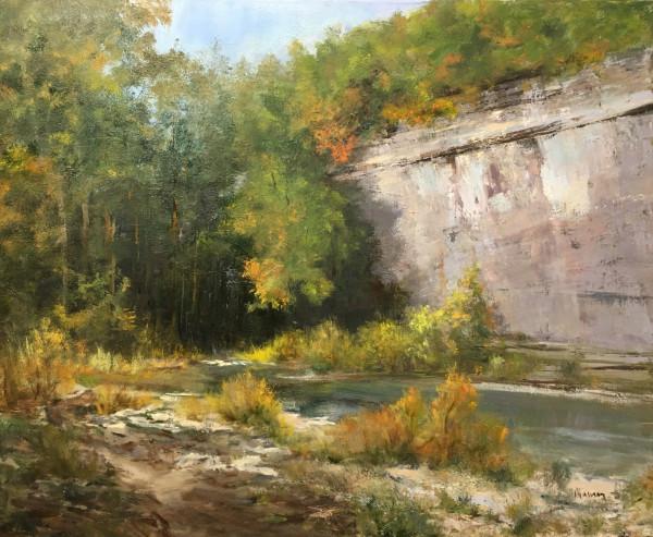 Horse Trail by Judy Maurer