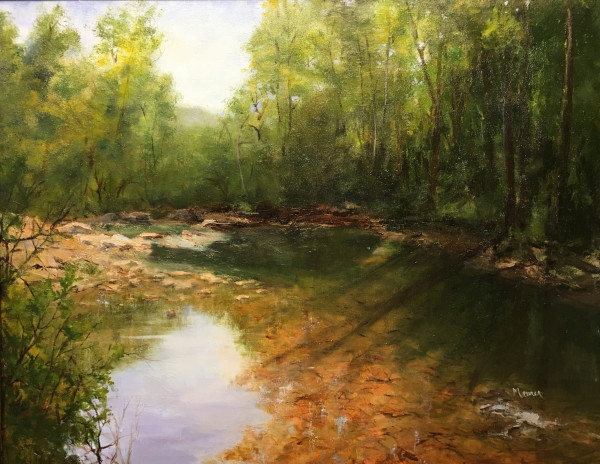 Kings River Shadows by Judy Maurer