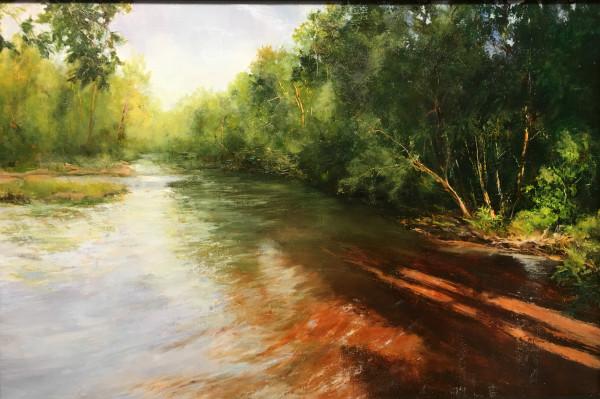 Spring River by Judy Maurer