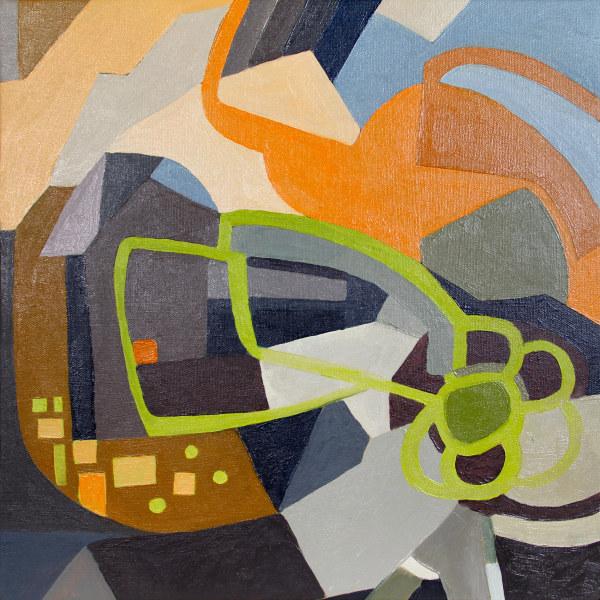 Geometric Color Study 1 by Pamela Staker