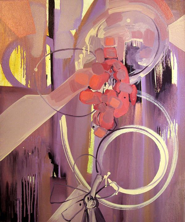 Flower Purple by Pamela Staker