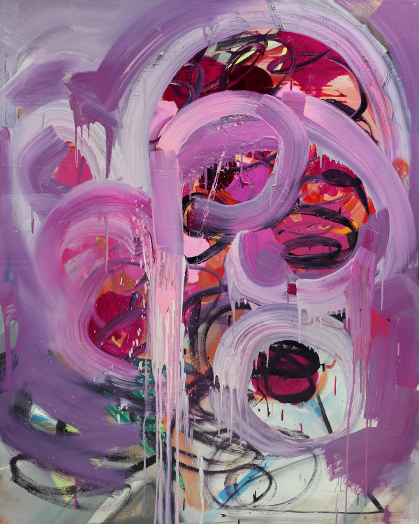 Abstract Study (swirl no.2) by Pamela Staker