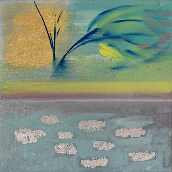 Abstract Study (waterfront) by Pamela Staker