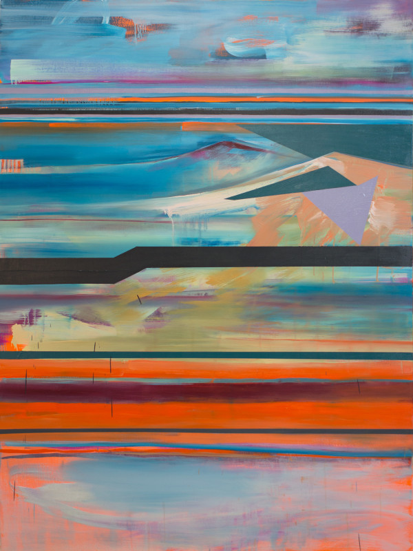 Stacked Horizons no.4 by Pamela Staker