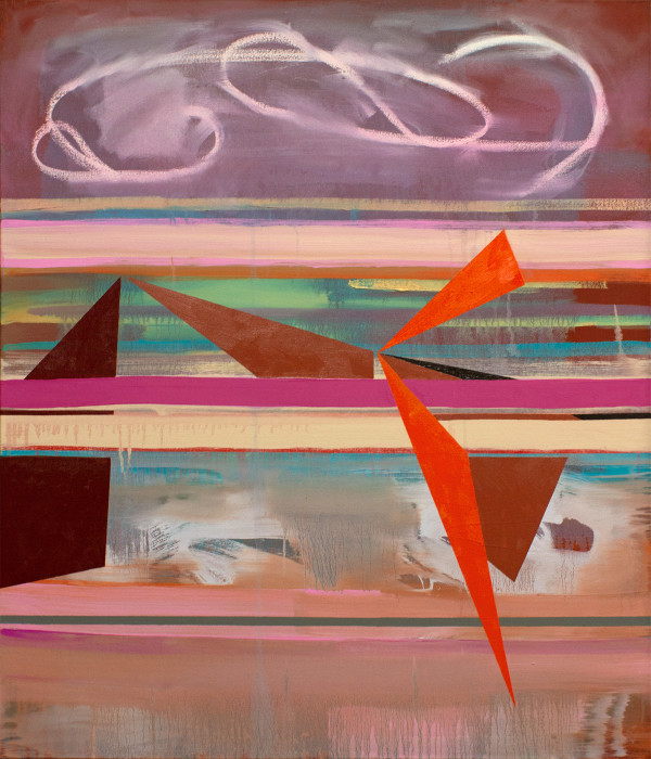 Stacked Horizons (signs in the sky) by Pamela Staker