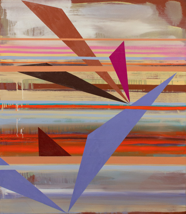 Stacked Horizons (signs in the sky 2) by Pamela Staker