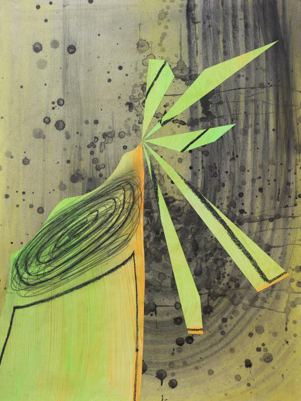 Urban Haiku (tree trunk) by Pamela Staker
