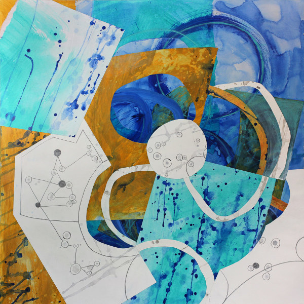 Abstract Study (adrift at night) by Pamela Staker