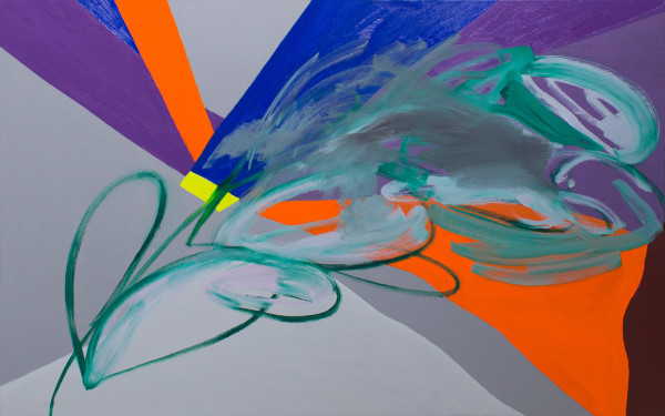Abstract Study (blur) by Pamela Staker