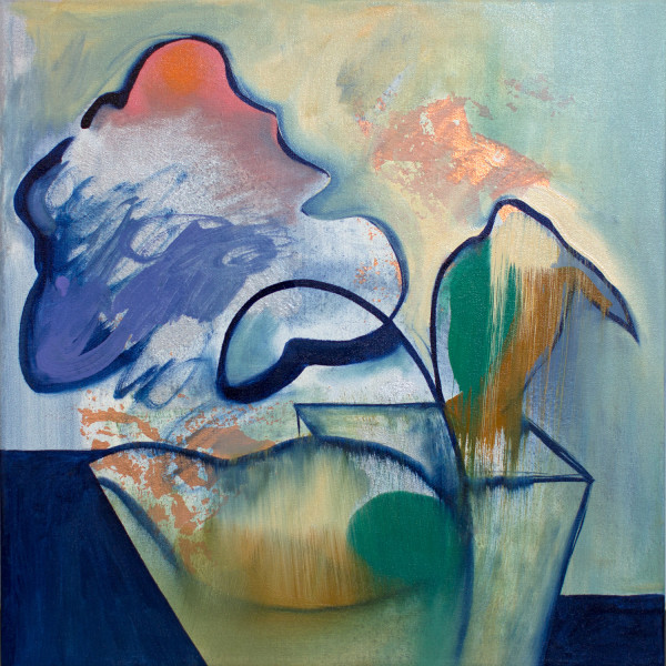 Abstract Study (planter) by Pamela Staker