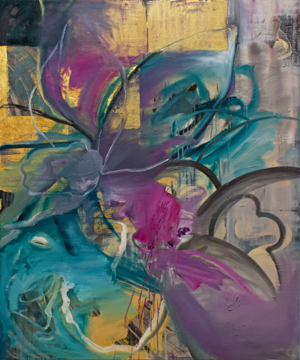 Abstract Study (flourish) by Pamela Staker