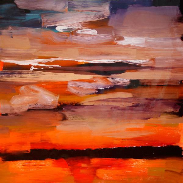 Dark Landscape by Pamela Staker