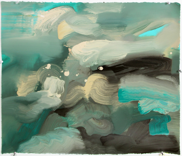 Abstract Landscape (ocean 1) by Pamela Staker