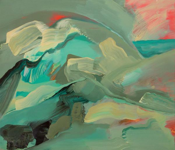 Abstract Landscape (ocean 2) by Pamela Staker