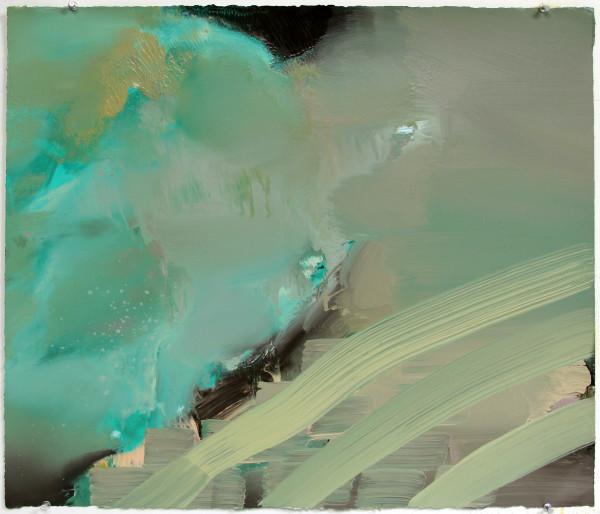 Abstract Landscape (ocean 3) by Pamela Staker