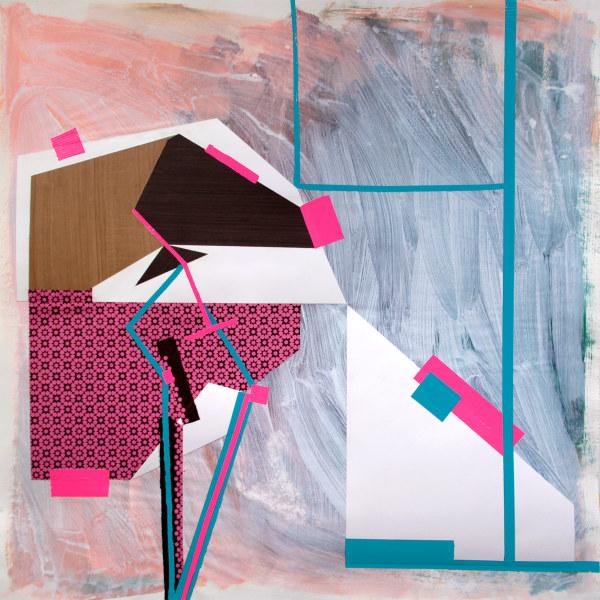 Interior/Exterior (blue four) by Pamela Staker