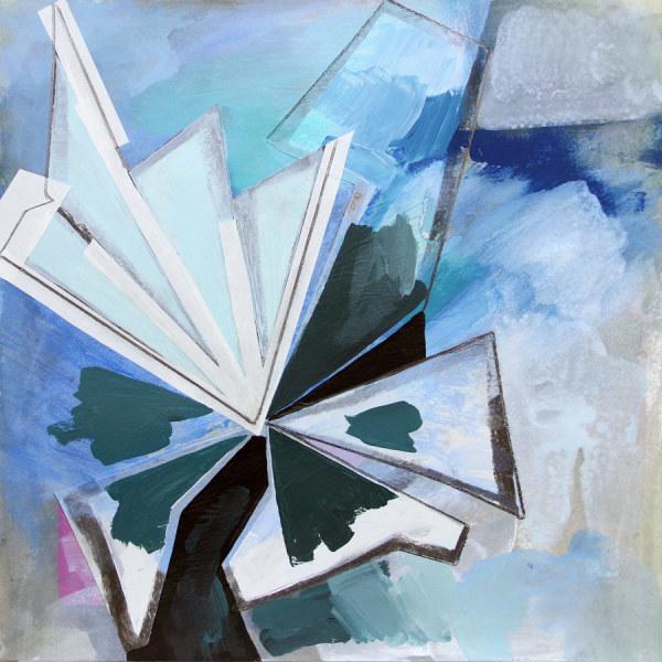 Abstract Study (fan) by Pamela Staker