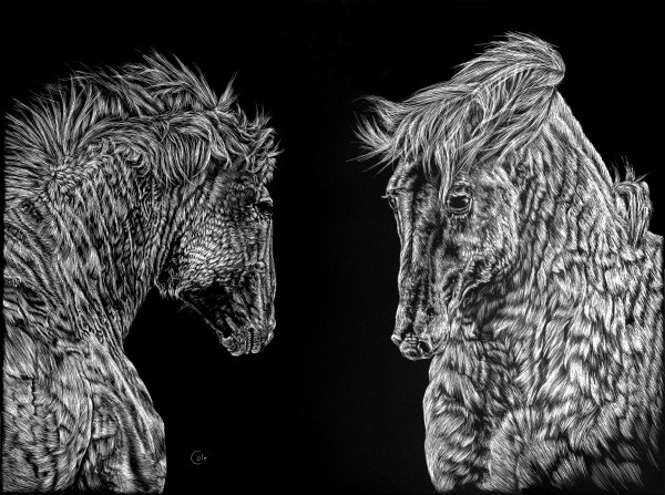 Horses of the Steppes by Nathan Cole
