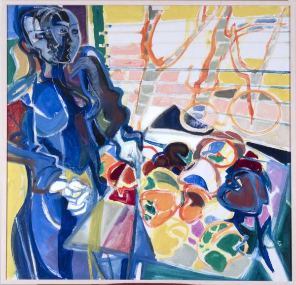 Woman on Glass Bottom-Boat