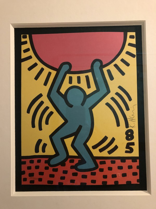 Happy Dance by Keith Haring