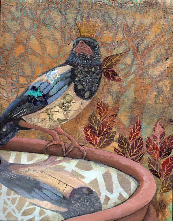 Magpie Majesty by Kayann Ausherman