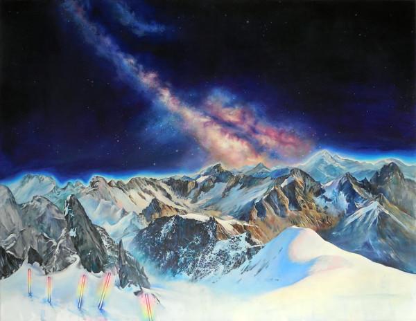 Milky Way (only stars overhear us) by Anne Wölk