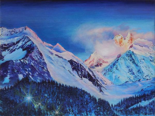 Alpenglow II by Anne Wölk