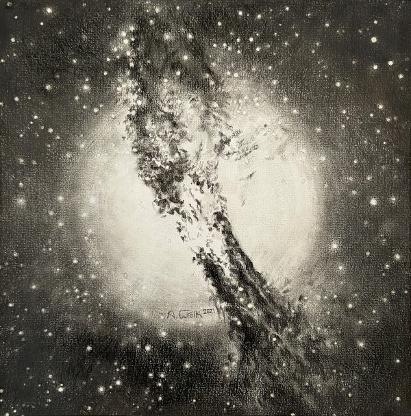 Glowing Heart (Centaurus A (NGC 5128) by Anne Wölk
