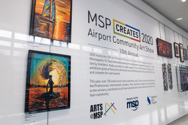 MSP Creates 2020: The Airport Community Art Show