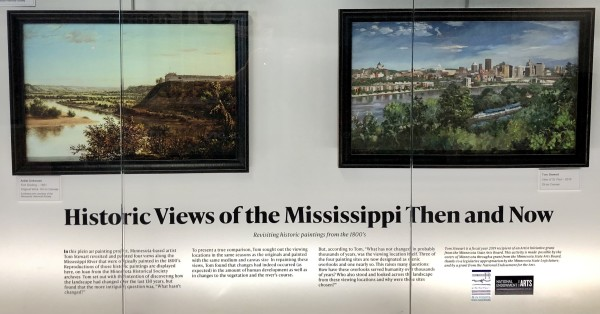 Historic Views of the Mississippi Then and Now by Tom Stewart