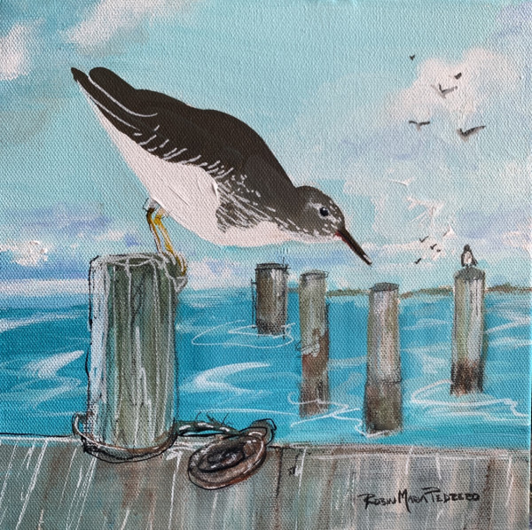 Sittin on the dock by Robin Maria Pedrero