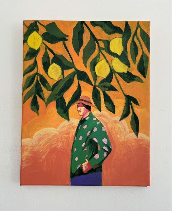 梅迪·斯特拉顿的《柑橘天空》