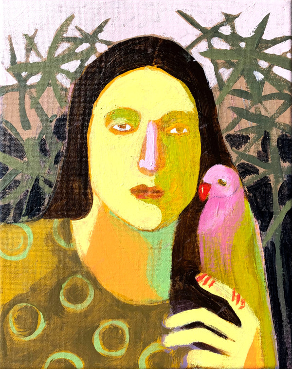 玛迪·斯特拉顿的《鹦鹉》