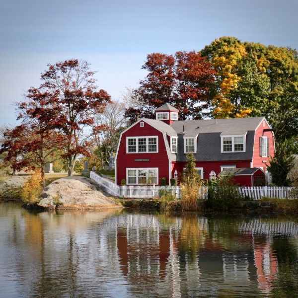Fall at Redd's Pond by Michelle Brown
