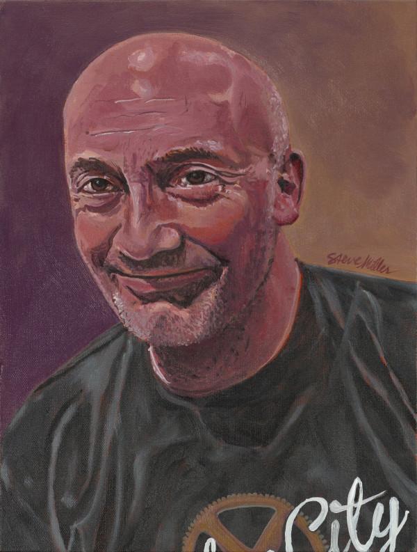 Portrait of John Marshall by Steve Miller