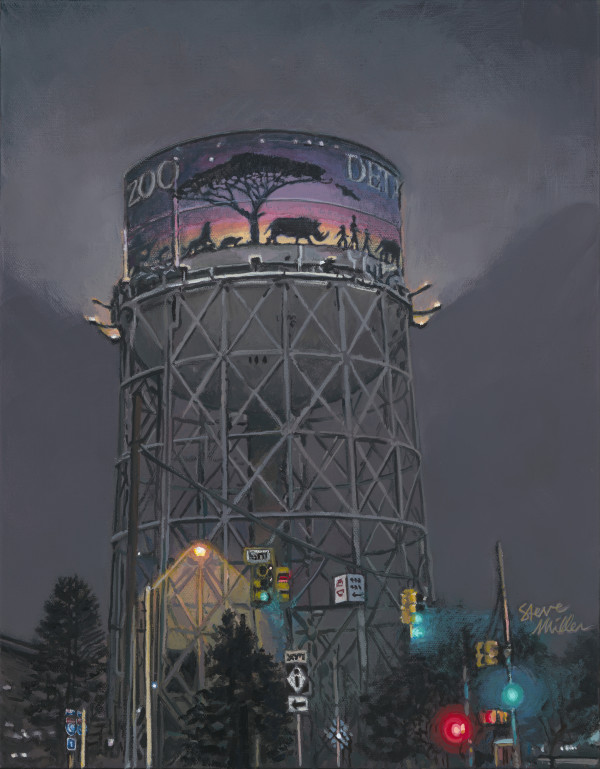 Water Tower by Steve Miller
