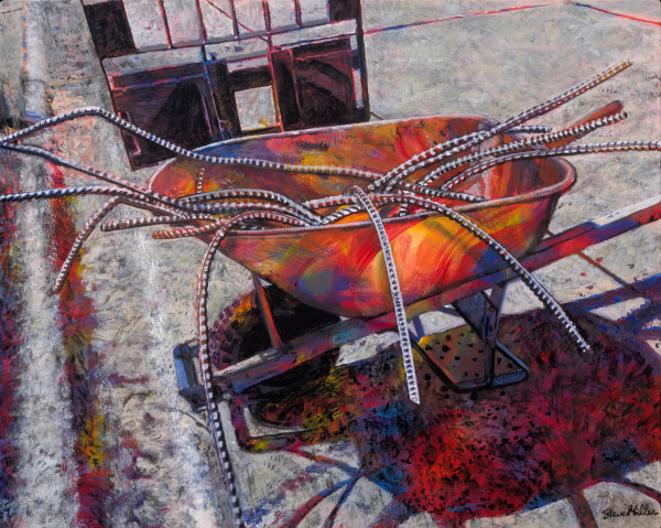 Wheel Barrow by Steve Miller