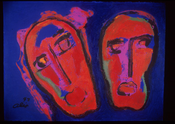 Aida e Radames by Alix Gonzalez Dumka