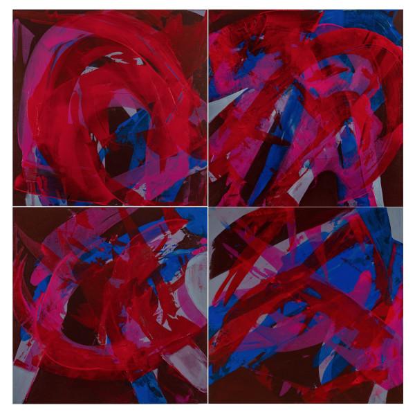 covid B Quartet by Alix Gonzalez Dumka