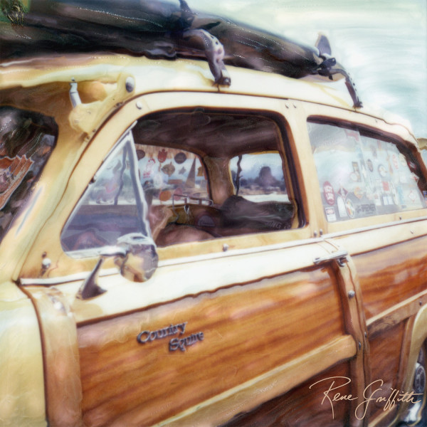 Country Squire Woody by Rene Griffith
