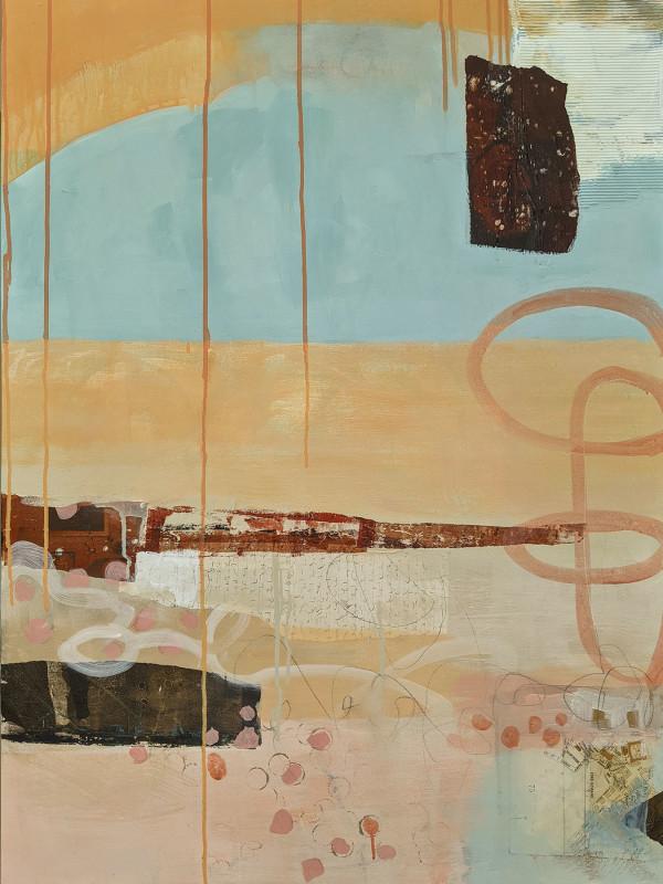 Creamsicle Beach by Rene Griffith