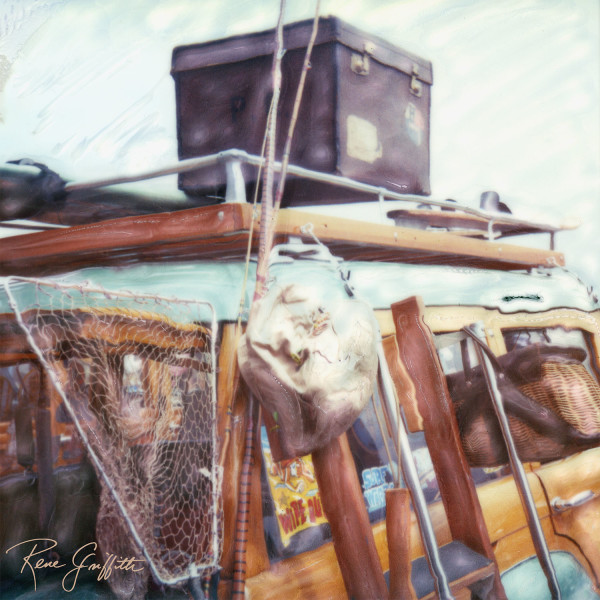 Gone Fishin' Woody by Rene Griffith